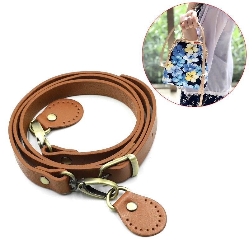 Natural real cowhide handbag, belt bag, DIY bag accessories