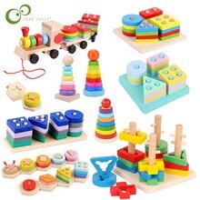 Forme geometriche colorate giocattoli coordinati bambini apprendimento precoce esercizio abilità pratica giocattoli educativi in legno Montessori YJN