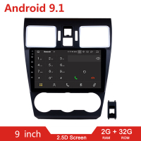 9 2din Android 9.1 Car Multimedia Radio Auto Video Player For Subaru XV WRX Forester 2013 2014 2018 2 din GPS Navigation Stereo