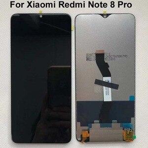 Image 2 - 100% 새로운 6.53 샤오미 Redmi Note 8 Pro LCD 디스플레이 터치 스크린 교체 Redmi Note8 LCD 디지타이저 + 도구