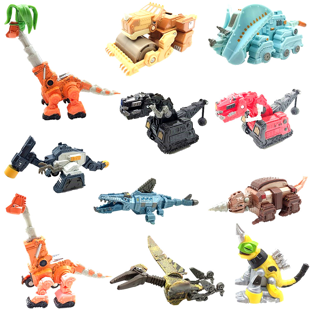 AOSST Dinotrux Dinosaur CAR Truck Removable Dinosaur Toy Car Mini Models Children's Gifts Toys Dinosaur Models Mini Child Toys