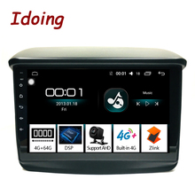 """Idoing 9 """"4グラム + 64グラム2.5D三菱パジェロスポーツ2013カーラジオマルチメディアビデオプレーヤーナビゲーションgpsアクセサリーセダンno dvd"""