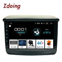 Idoing 94G+64G 2.5D For Mitsubishi Pajero Sport 2013 Car Radio Multimedia Video Player Navigation GPS Accessories Sedan NO DVD