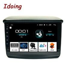 Idoing Radio Multimedia con GPS para coche, Radio con reproductor, 9 pulgadas, 4 GB + 64 GB, 2.5D, navegador, accesorios, sedán, SIN DVD, para Mitsubishi Pajero Sport 2013