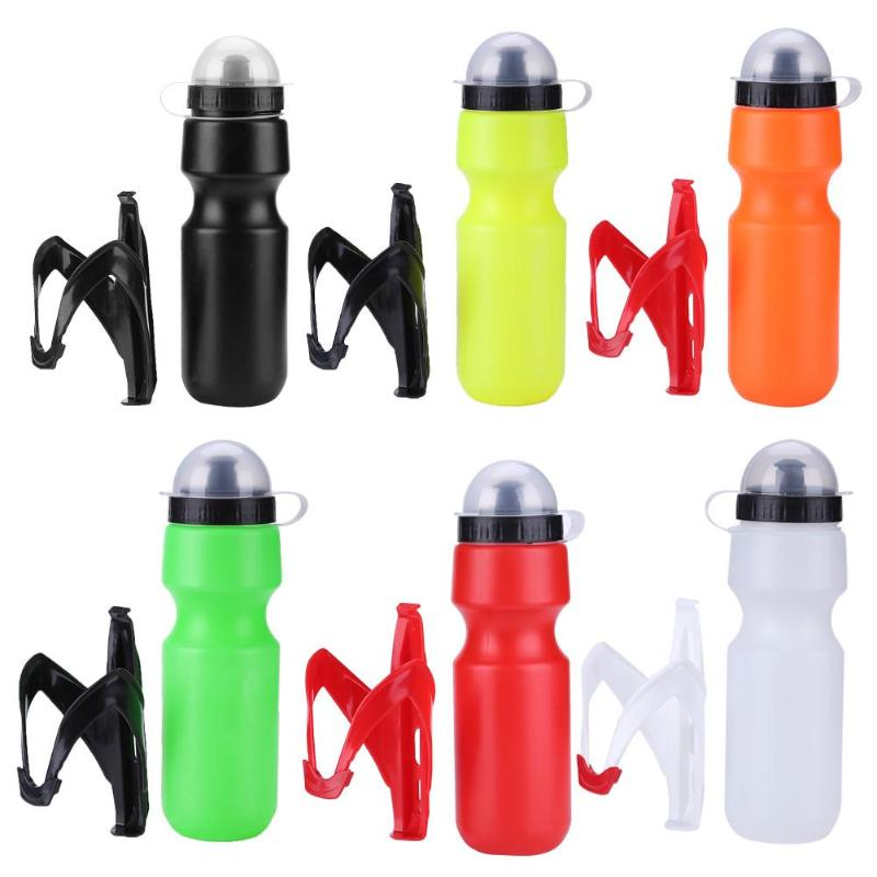 650ml Outdoor Cycling Road Bicycle Portable Water Bottle With Kettle Holder