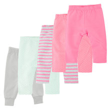 Pants Clothing Leggings Solid-Trousers Bebe Girls Newborn-Baby Stripes Cotton Spring