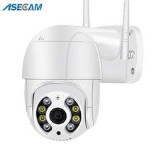 5mp ip camera de segurança ptz ao ar livre 4x zoom digital ai humano detectar h.265 p2p onvif áudio camera wifi casa inteligente câmera de vigilânciasem fio