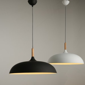 Image 5 - Modern hanging ceiling lamps  Wood aluminium E27 italian Pendant lights, House dining room decoration lighting