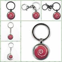 Fashion Retro Animax Steven Universe Shield Crystal Pendant Keychain Charm Bag Keyring Steampunk Jewelry Woman Gift Key Chain