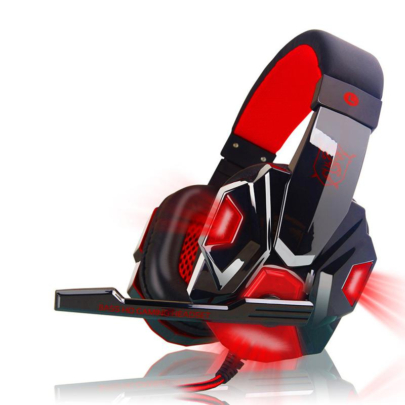 PC780 Gaming Headset Earphone Wired Gamer Headphone Stereo Sound Headsets With Mic LED Light For Computer PC/PS/XBOX Gamer