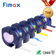 Fimax 91201 Compatible for DYMO LetraTag Tape 91200 12267 Plastic Label Maker 91203 16951 Fabric Tape 18771(China)
