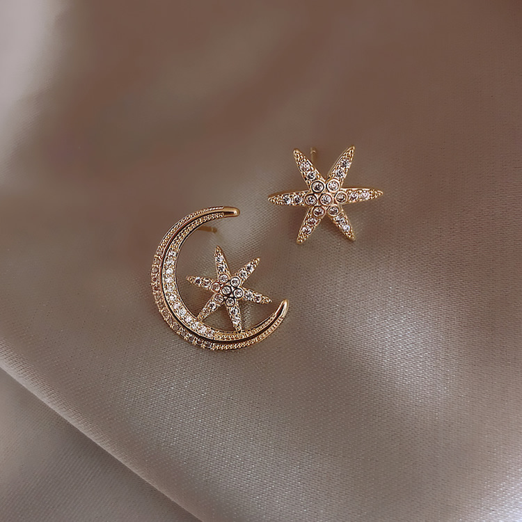 2020 New Asymmetric Earrings Korean Fashion Simple Earrings Wild Exquisite Elegant Fashion Quality Earrings Prevent Allergy