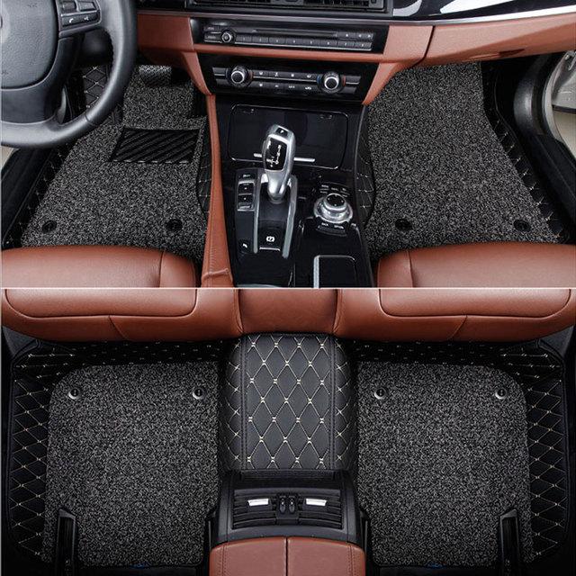Car floor mats for  Mercedes Benz Viano A B C E G S R V W204 W205 E W211 W212 W213 S class CLA GLC ML GLA GLE GL GLK Car  carpet