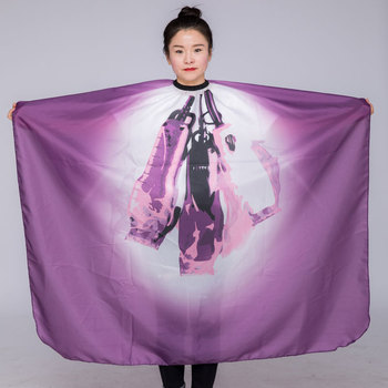 1PC 140*160CM Hairdresser Capes Salon Barber Cutting Hair Waterproof Cloth Salon Barber Gown Cape Hairdresser Hair Dresser Wrap salon professional hair styling cape hair cutting coloring styling cape hairdresser wai cloth barber camouflage embossing capes