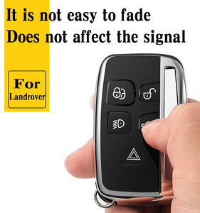 Image 3 - Hight quality TPU key case cover protective shell for Land Rover FREELANDER DISCOVERY RANGE ROVER Range Rover Evoque Jaguar