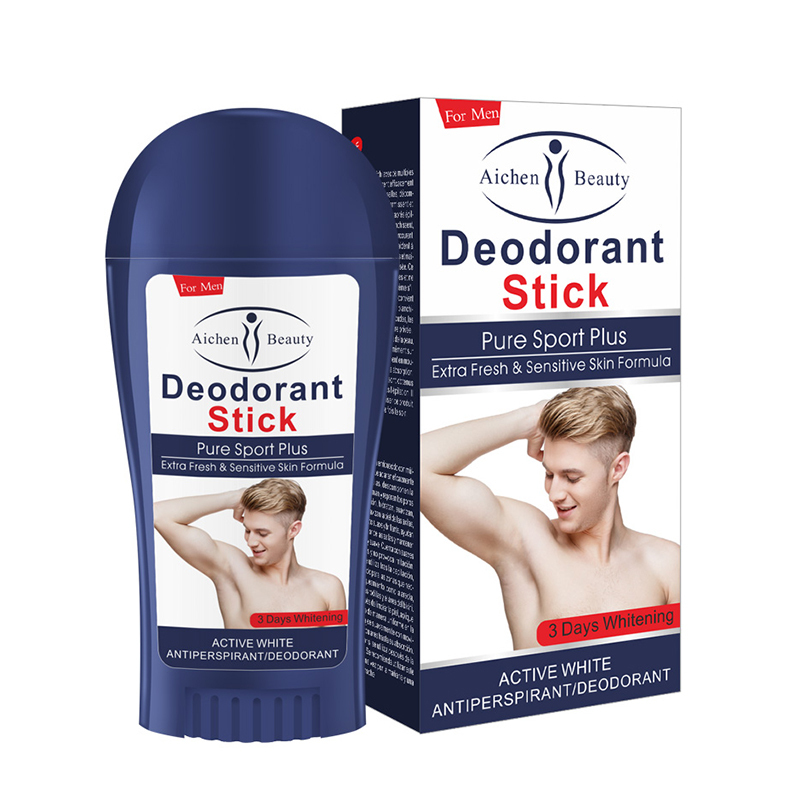 1pcs Deodorant Men's Body Lotion Pure Non-Toxic Natural Antiperspirant Refreshing Body Odor Deodorant Body Underarm Odor Cream