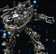 MPM08 MPM 08 dönüşüm Galvatron Mega boy alaşım orijinal büyük aksiyon figürü KO Robot oyuncaklar