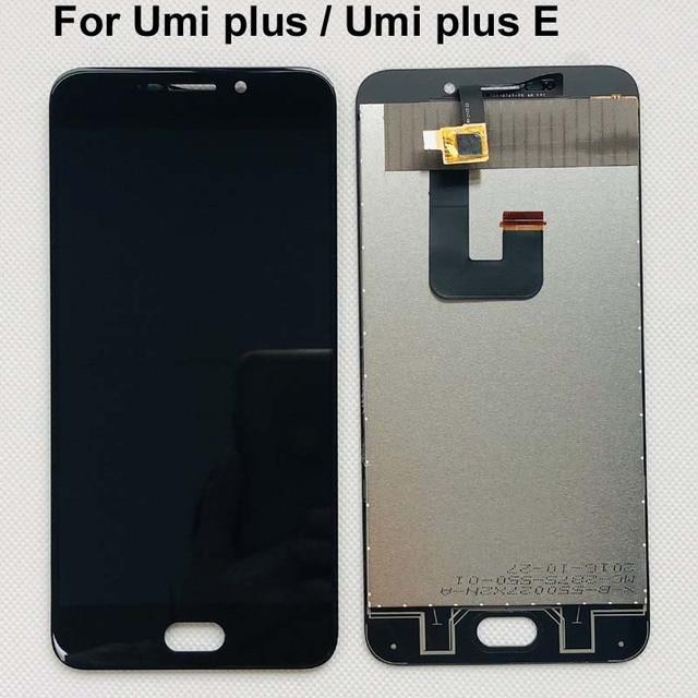 5.5 Inch Umi Plus E Lcd scherm + Touch Screen 100% Originele Getest Digitizer Glass Panel Vervanging Voor Umidigi Plus 1920X1080