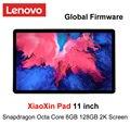 Глобальная прошивка Поддержка Lenovo Xiaoxin 11 дюймов, 2K ЖК-экран Восьмиядерный процессор Snapdragon 4GB/ 6GB оперативной памяти, 64 Гб встроенной памяти/28 ...