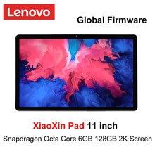 Küresel Firmware Lenovo Xiaoxin ped 11 inç 2K LCD ekran Snapdragon Octa çekirdek 4GB/ 6GB RAM 64GB / 28GB ROM Tablet Android 10