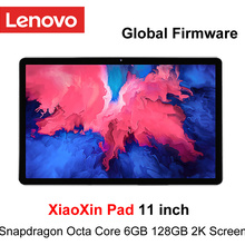 Firmware globale Lenovo Xiaoxin Pad 11 pollici 2K schermo LCD Snapdragon Octa Core 4GB/ 6GB RAM 64GB / 28GB ROM Tablet Android 10