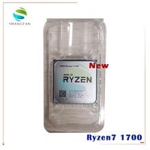 AMD procesador de CPU AMD Ryzen 7 1700 R7 1700 3,0 GHz, ocho núcleos, seis hilos, 65W, YD1700BBM88AE, enchufe AM4
