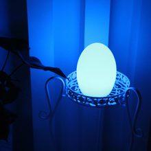 D12 * h15 см цветная светодиодная лампа для яиц настольная с