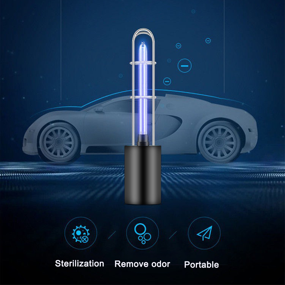 UV germicidal lamp USB Rechargeable Lights UV Sterilizer Lamp Ozone Bactericidal Lamp Household disinfection lamp for home