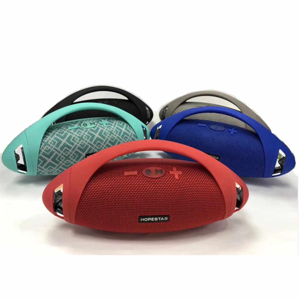 HOPESTAR H37 Rugby głośnik Stereo soundbar z bluetooth wodoodporna przenośny Subwoofer bezprzewodowy con Funzione di Accumulatori e