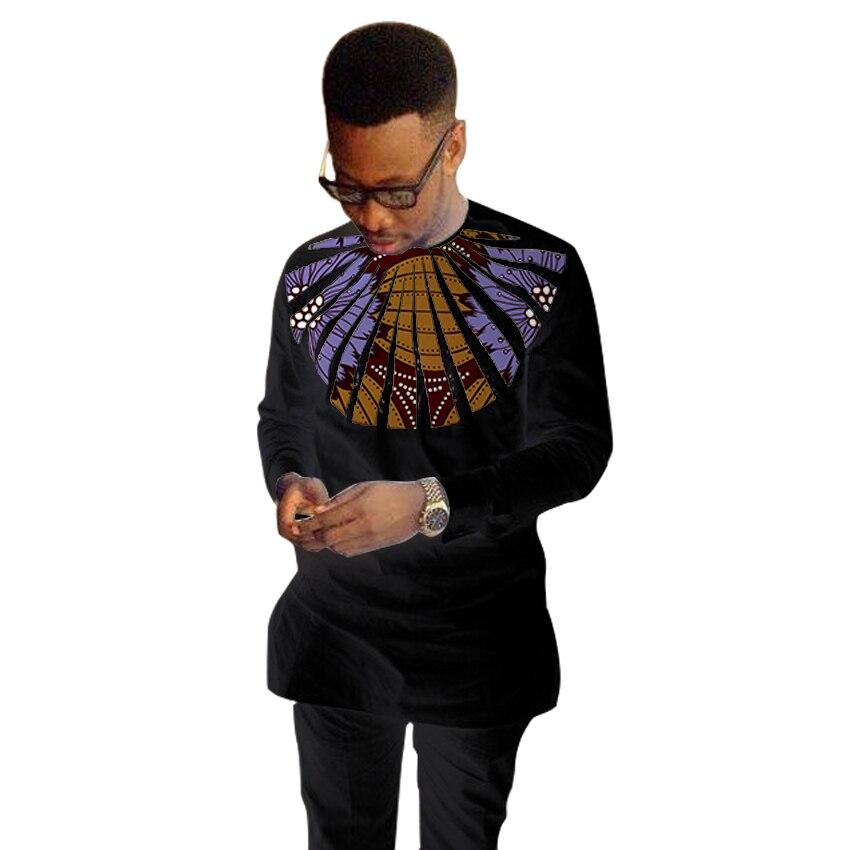 Gorgeous Design Men Dashiki Shirt Ankara Tops Fashion Wax Patchwork Black T Shirt African Clothing Customized Designer T Shirt Fashion T Shirtt Shirt Aliexpress
