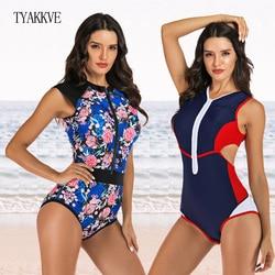 2020 um Pedaço Swimsuit Swimwear Das Mulheres Empurrar Para Cima Monokini Bodysuit Zip Maiô Guarda Erupção Esporte Feminino Maiô BeachWear XXL