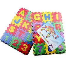 36Pcs Baby Play Game Mat Child Mini Size Puzzle Alphabet A-Z Letters Numbers Foam Mat Educational Toy Floor Carpet Rug Crawling цена