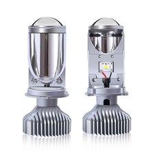 LED headlight bi led y6s H4 LED Mini Projector Lens Automobiles LED Bulb va2445 led