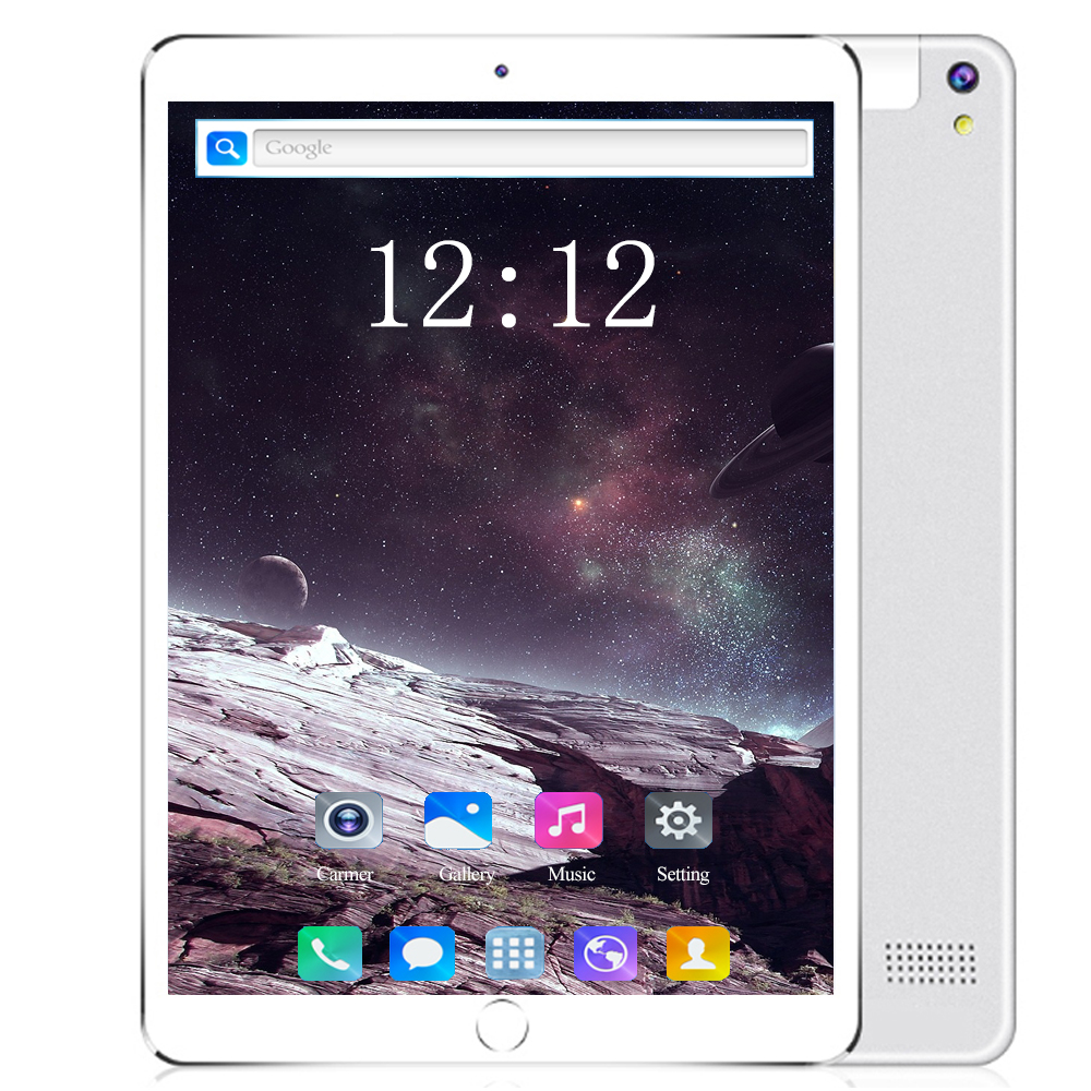 2020 nouveau 10.1 pouces tablette Android 8.0 10 Core RAM 6GB ROM 128GB téléphone intelligent double carte SIM 3G 4G LTE WIFI GPS 10.1