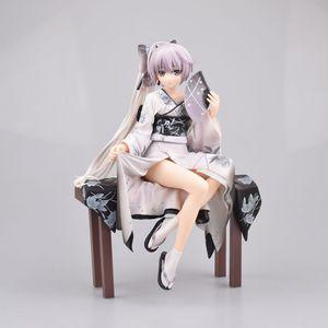 Image 2 - Alphamax Yosuga No Sora Sora Kasugano Kimono Ver. Nhựa PVC Anime Hình Đồ Chơi Mô Hình Cô Gái Sexy Sưu Tập Búp Bê Tặng