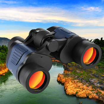 HD Telescope 60X60 Binocular 3000M High Clarity For Outdoor Hunting Climbing  Optical Night Vision binocular Fixed Zoom Eyepiece wildgameplus wg500b 1080p hd night vision binoculars optical 10 8x31 zoom digital night vision binocular hunting telescope night
