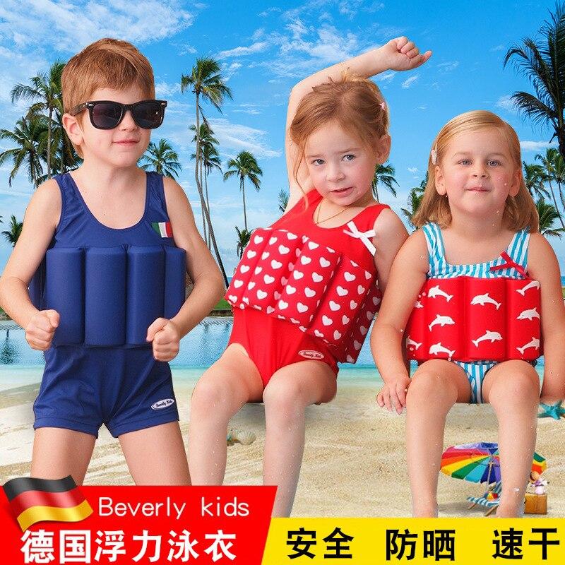 Germany CHILDREN'S Buoyancy Swimsuit GIRL'S Bathing Suit One-piece GIRL'S Swimsuit Baby Infants Tour Bathing Suit BOY'S Swimsuit