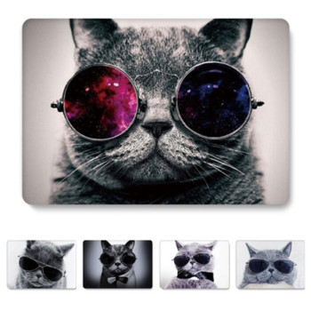 Animal Cat Clear Laptop Case for Macbook Air Pro Retina 11 12 13 15 Hard Cover for Mac book Pro 13.3 A2159 A1708 A1502 2017 2019 nabolang a1502 replace cover buttom case battery housing cover for macbook pro 13 3 retina a1502 2013 2014 2015 laptop