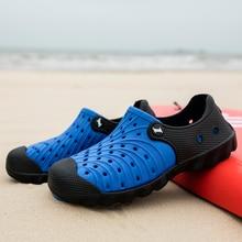2020 Men Beach Shoes Summer Outdoor Sandals Swimming Men Shoes Non-slip Crocs Sa