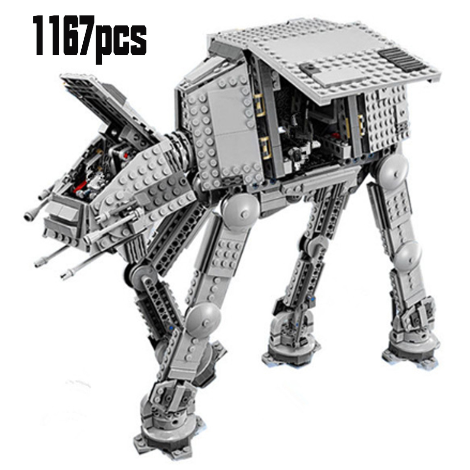 10908 05130 Star Toys Wars Compatible Lepining Motorized Walking At-at Set Assembly Toys Model Kids Gifts Building Blocks Toys