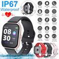 T55 Smart uhren Wasserdichte Sport für iphone telefon Smartwatch Herz Rate Monitor Blutdruck Funktionen Für Frauen männer kid-in Smart Watches aus Verbraucherelektronik bei