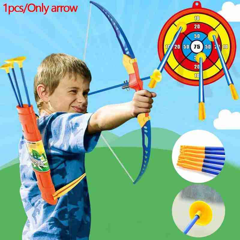 Bow And Arrow Accessories Plastic Safety Sucker Arrow Shooting Accessories Outdoor Sports Archery Arrows With Suction Cup