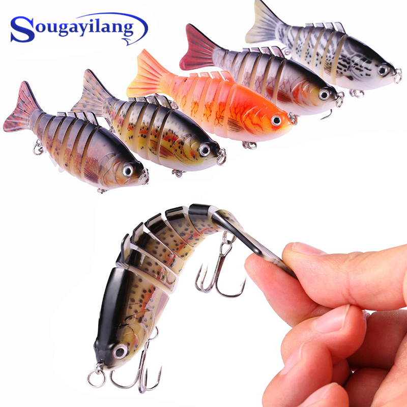 Sougayilang 1 шт 10 см 15 г свимбейты Рыболовная Приманка 5