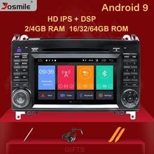 DSP 4GB 2 din Car Radio GPS estéreo para Mercedes Sprinter W906 Benz B200 una clase B W169 W245 Viano VitoW639 Multimeida de navegación
