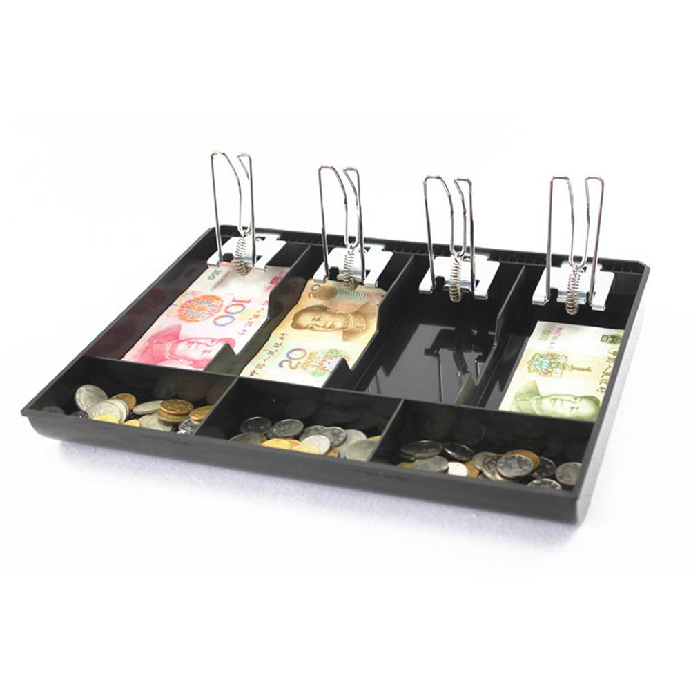 Permalink to Money Box Coin Cash Register Insert Tray Replacement Money Register Storage Box With 4 Bill 3 Coin for Supermarkets Shops Hotels