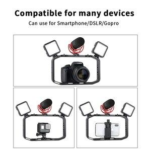 Image 3 - Universal DSLR Goproสมาร์ทโฟนวิดีโอRigแนวตั้งRigสำหรับiPhone XS 11 Pro Max X 8 Gopro 5 6 7 8 กล้องDSLR
