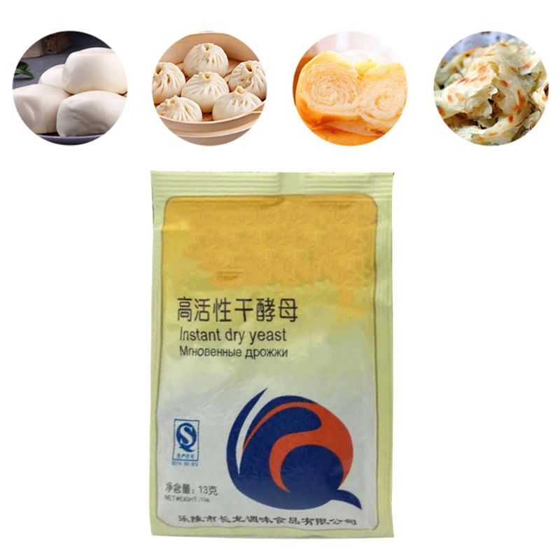 65g Kitchen Baking Supplies Bread Yeast High Glucose Tolerance Active Dry Yeast Essential Ingredients For Cake Making