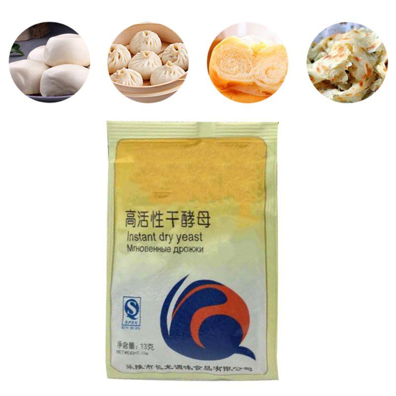65g Kitchen Baking Supplies Bread Yeast High Glucose Tolerance Active Dry Yeast Essential Ingredients For Cake Making