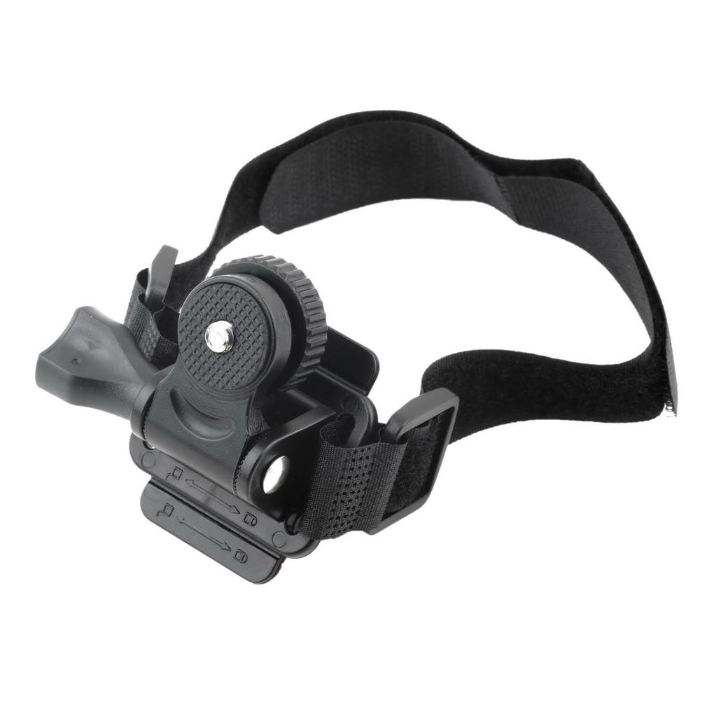 Adjustable Head Vented Helmet Strap Mount for Mobius ActionCam Sports Camera Video DV DVR Bike Helmet Mount Bicycle Holder new