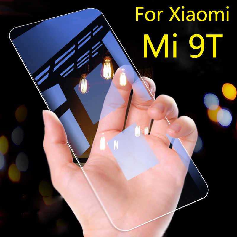 ป้องกันสำหรับ Xiao Mi Mi 9 T ป้องกันหน้าจอสีแดง Mi K 20 Pro K20 กระจกนิรภัย Mi 9 แผ่นเกราะ xio Mi ป้องกันฟิล์ม